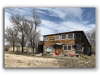 Lot with Home for Sale in Lusk WY