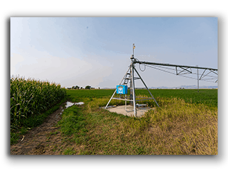 Pivot Irrigated Land for Sale in WY